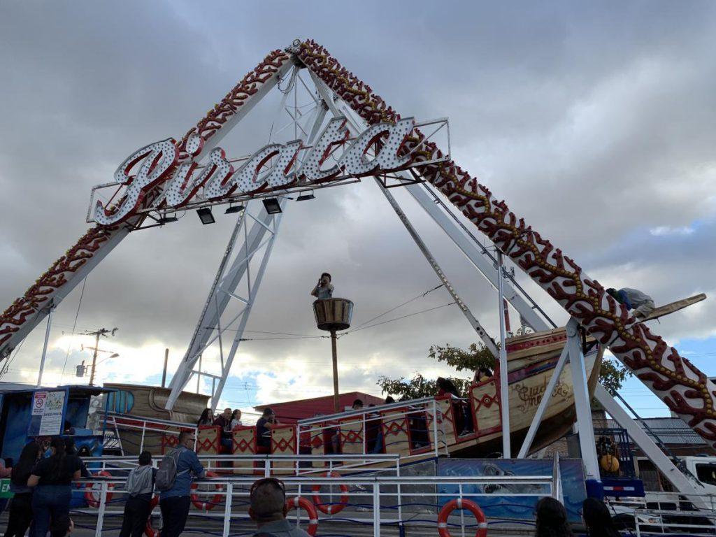Festejos Populares San Jose Zapote - Barco Pirata