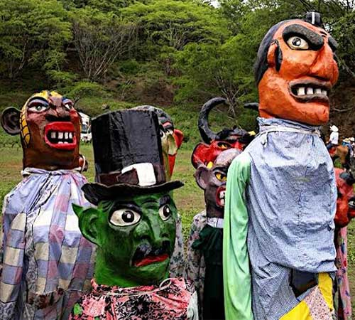 Folklore Mascarada Costarricense