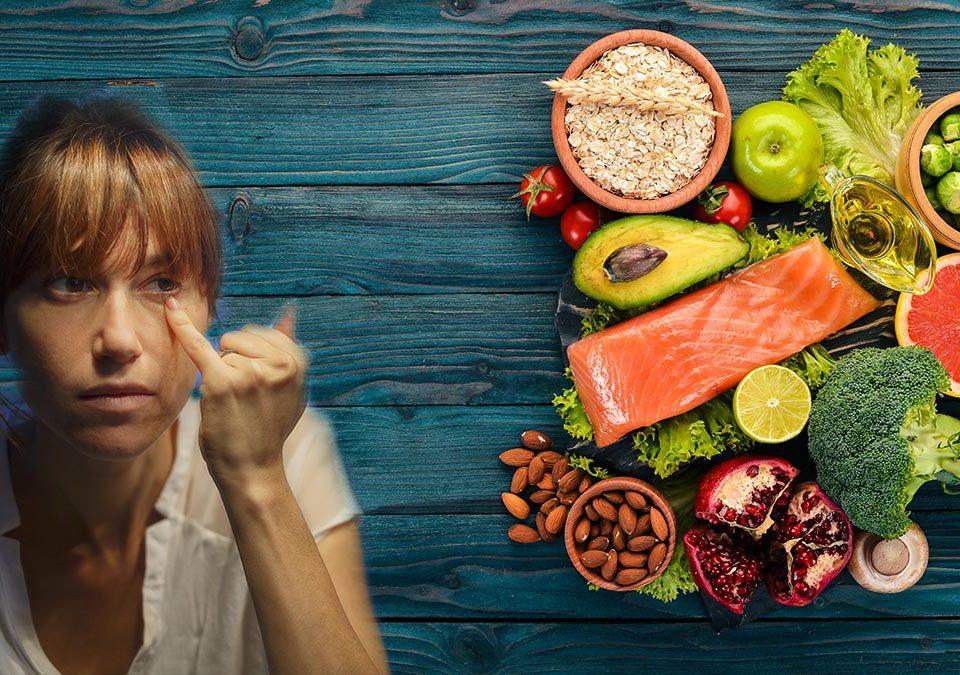 Alimentos contra ojeras