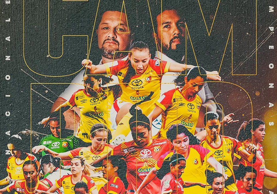 Herediano Campeon Femenino Fútbol